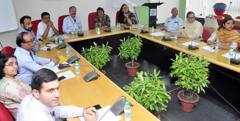 Punjab State IAS Association participating in a session held at MGSIPA to promote the noble cause of Organ Donation