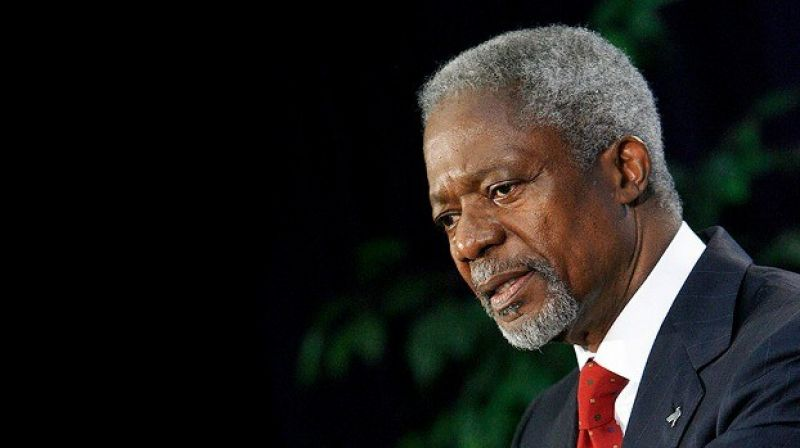 Annan was never afraid to speak candidly