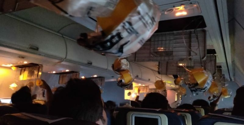 Out of 166 passengers on board, 30 passengers are affected