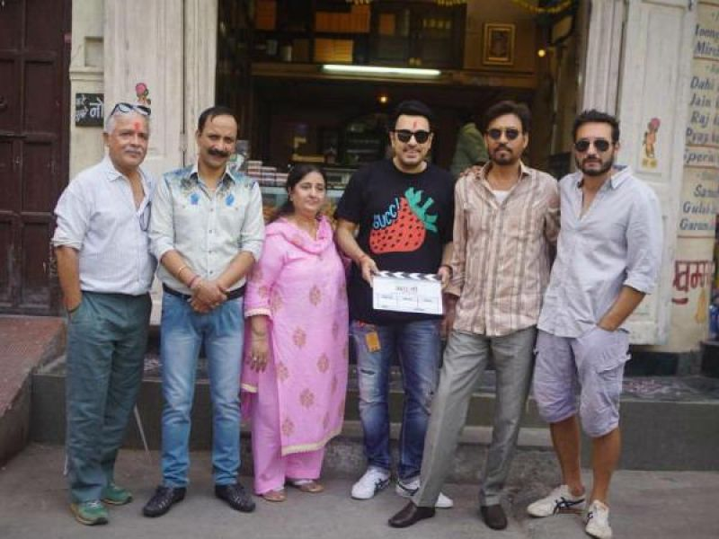 Irrfan starts shooting for 'Angrezi Medium' in Udaipur