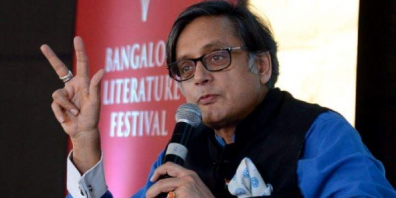 Diplomat-turned-politician Shashi Tharoor