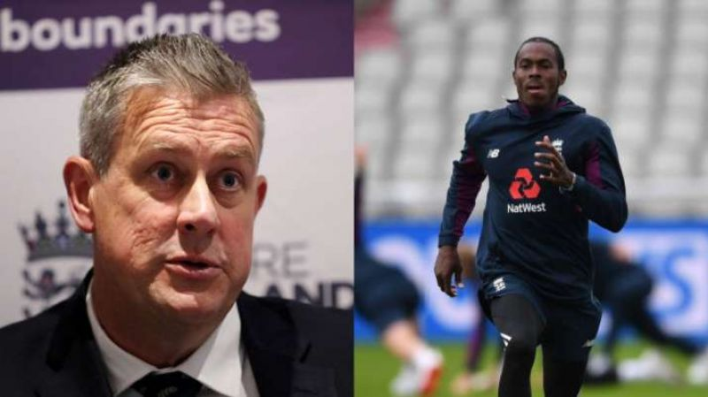 Ashley Giles and Jofra Archer