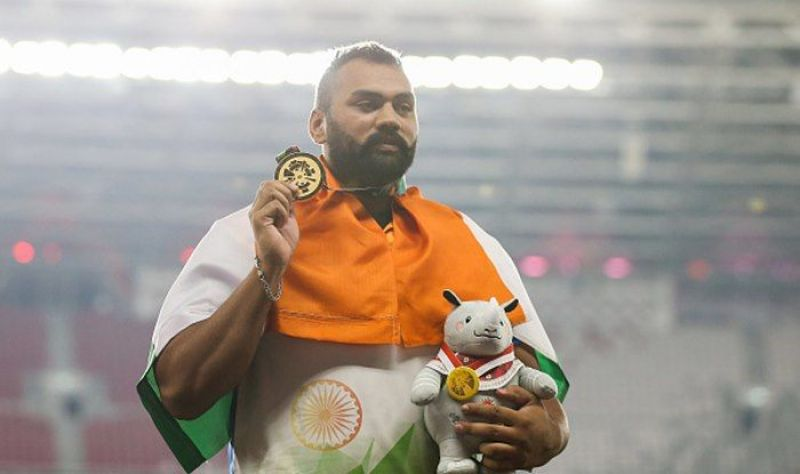 Asian Games shotput Gold medallist Tejinder Pal Singh