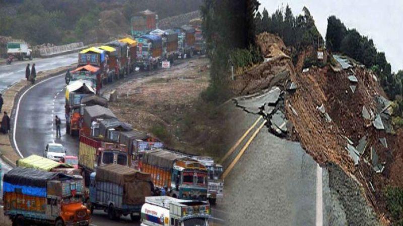 landslides shut Jammu-Srinagar NH