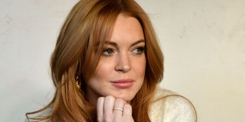 Lindsay Lohan apologised