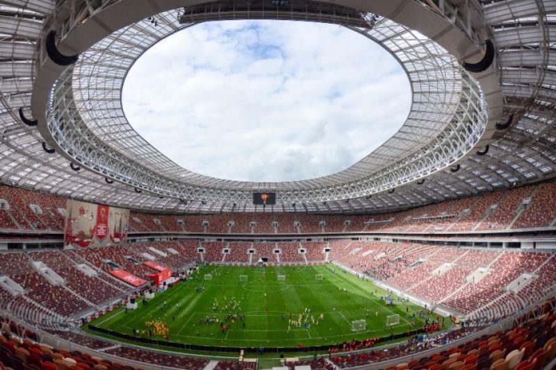 Moscow's Luzhniki Stadium