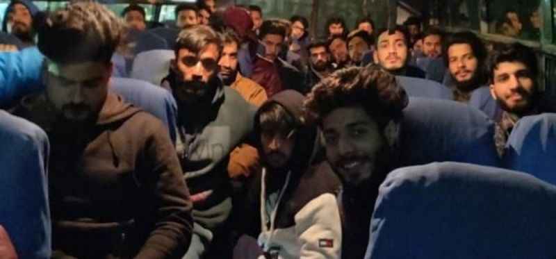 Kashmiri students have been sent home safely