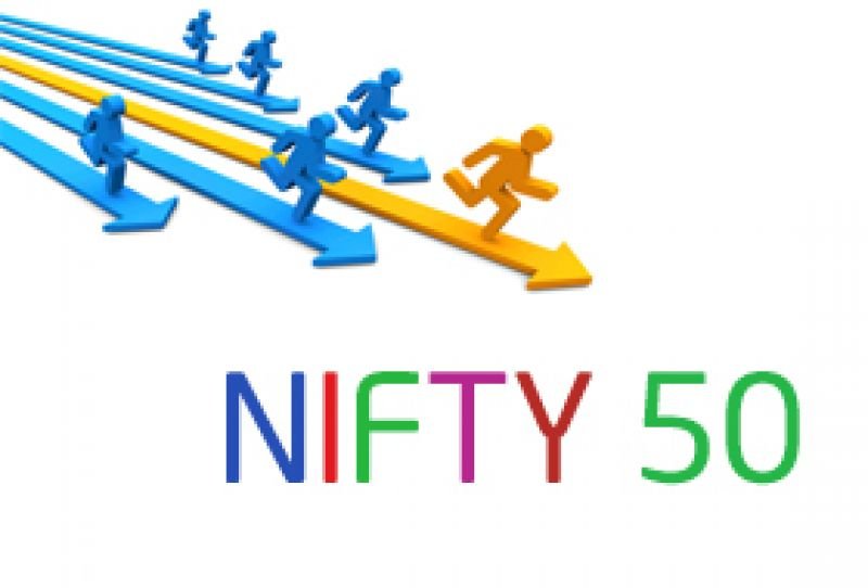 50-share NSE Nifty also turned volatile