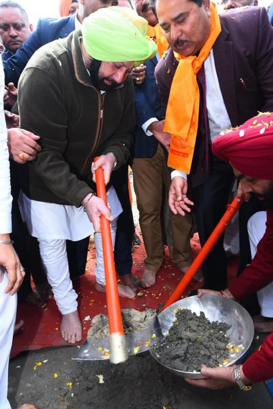 Capt Amarinder Launches Canal Based Water Supply & Sewage Projects