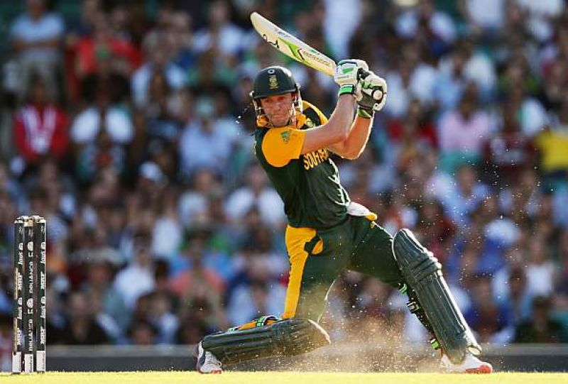 De Villiers holds the records for the fastest 50