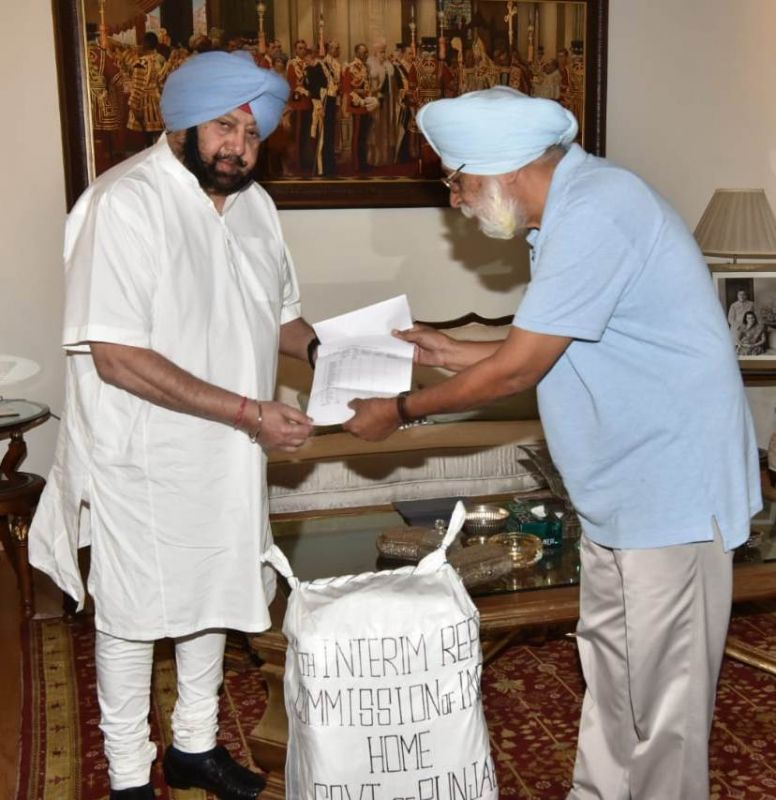 Justice (retd.) Mehtab singh gill commission submits 11th interim report