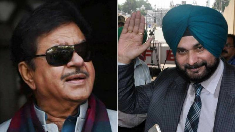 Navjot Singh Sidhu received support from BJP leader Shatrughan Sinha