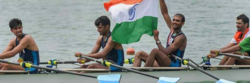Army welcomes its rowers who won medals at Asian Games