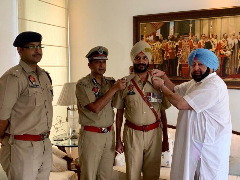 Satpal Singh and Captain Amarinder Singh