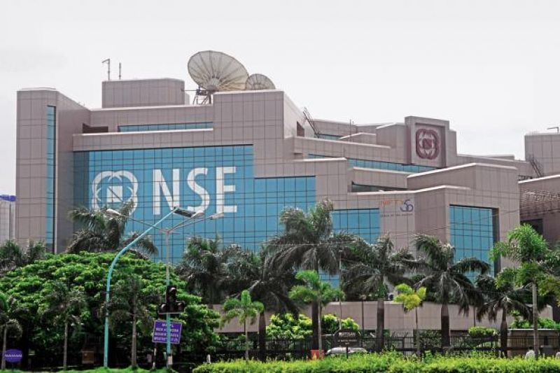 NSE index Nifty too edged higher by 41.85 points