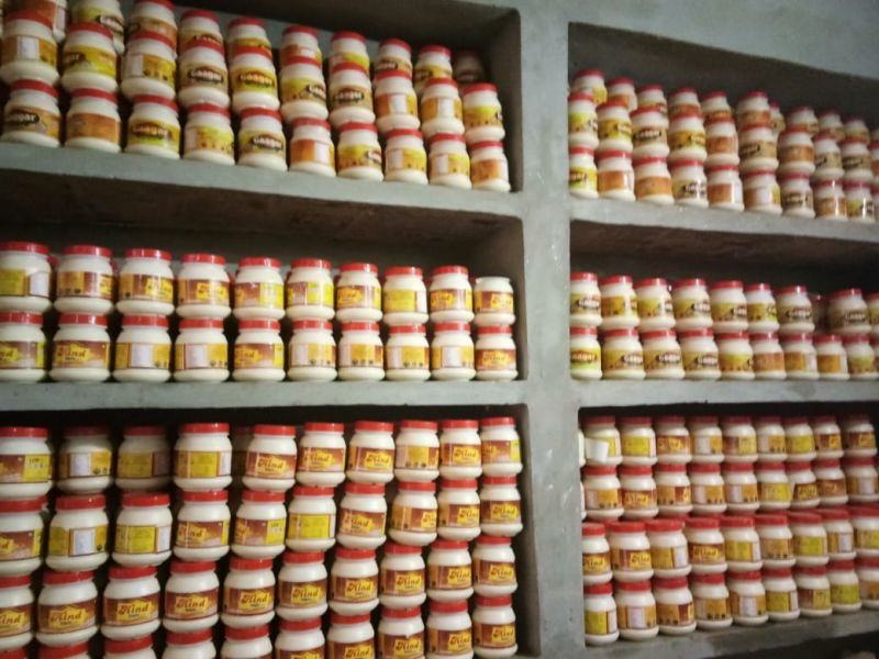 25 kg of  duplicate Desi Ghee seized