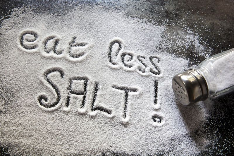 Salt reduction strategy