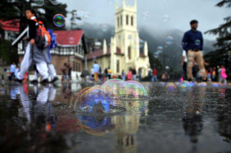 Shimla experienced 60.2-millimeter rainfall