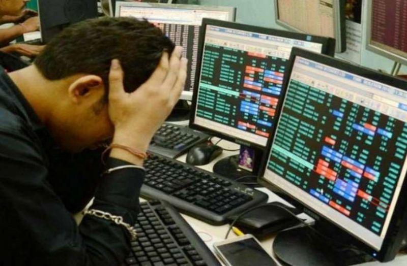 Sensex fell by 126.09