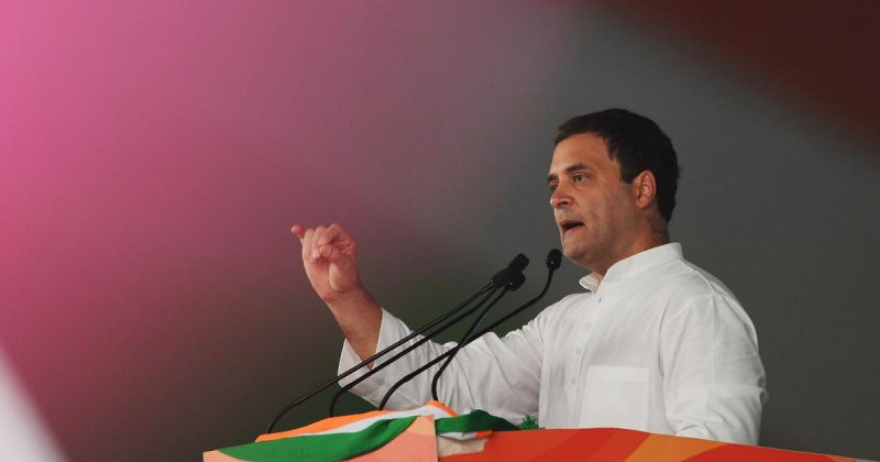 Rahul urges voters to 'vote for Nyay'