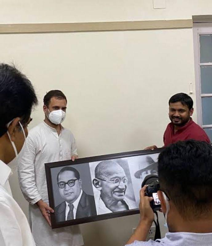 Leader Kanhaiya Kumar joined Congress