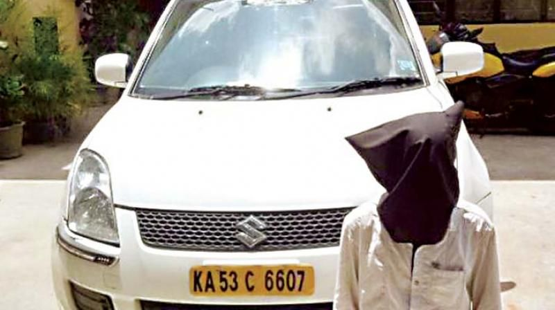 Ola cab driver attempting to rape a city-based architect
