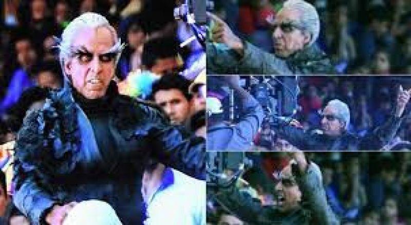 Akshay Kumar plays the supervillain