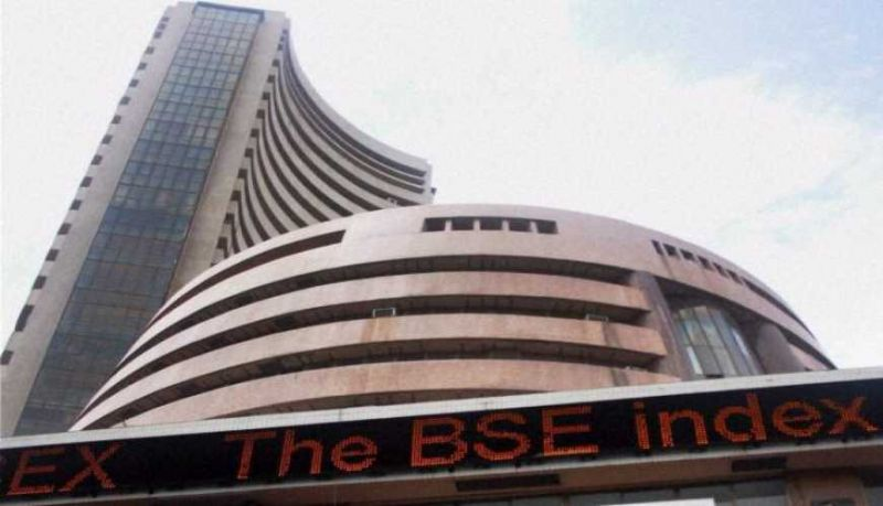 BSE index spurted 124.21 points