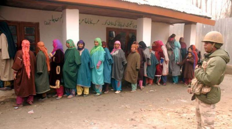 Enthusiastic voters have thronged polling stations
