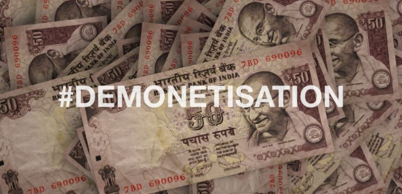 Second anniversary of demonetisation