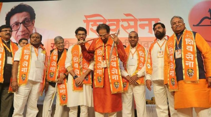 Shiv Sena had contested the polls in alliance
