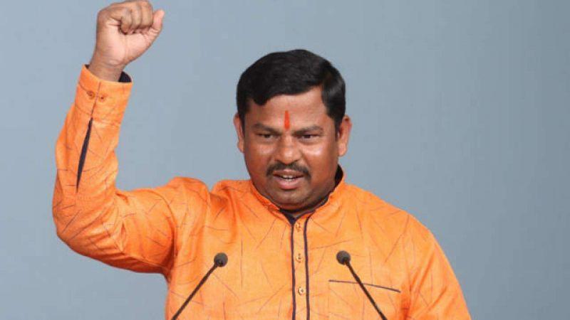 BJP MLA from Telangana T Raja Singh Lodh