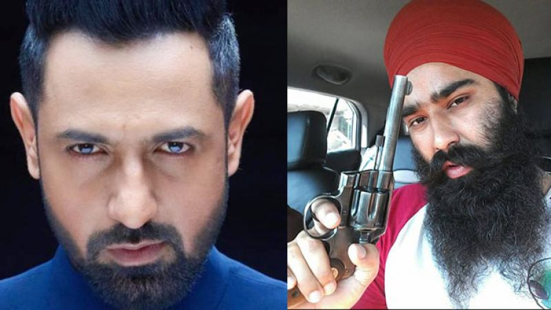 He had allegedly threatened Punjabi actor and singer Gippy Grewal