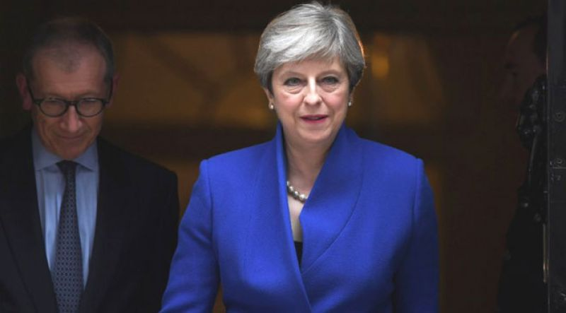 UK prime minister says no, again, to second Brexit vote