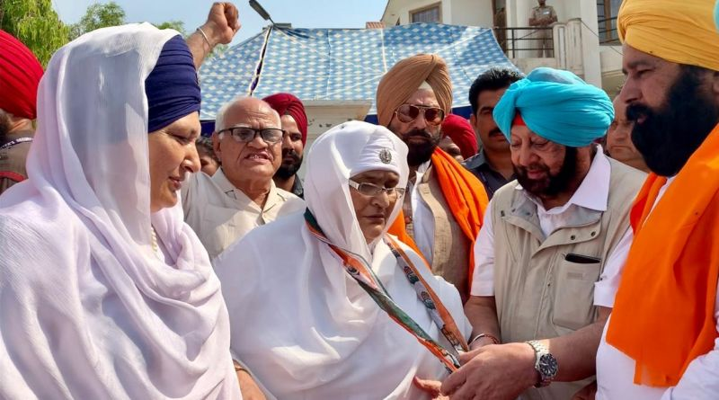 Rajdeep Kaur on Tuesday left the party to join the Congress