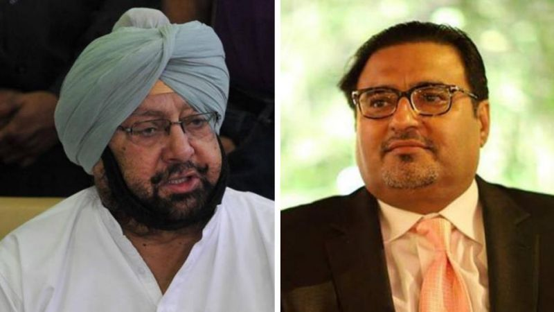 Amarinder Singh has accepted the opinion of Atul Nanda
