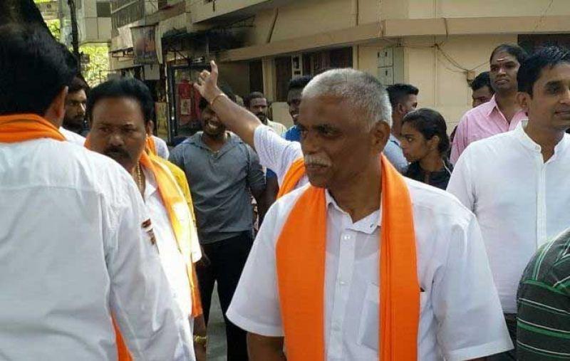 BJP candidate B N Prahlad