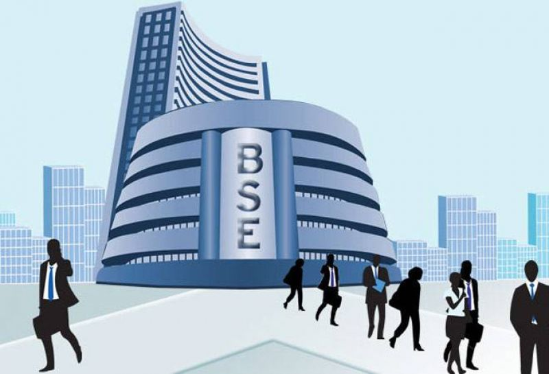BSE Sensex was trading higher by 63.75 points