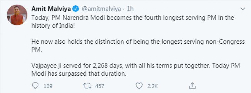 Amit Malviya tweet