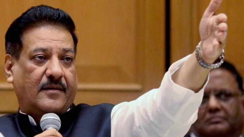 Senior Congress leaders Prithviraj Chavan