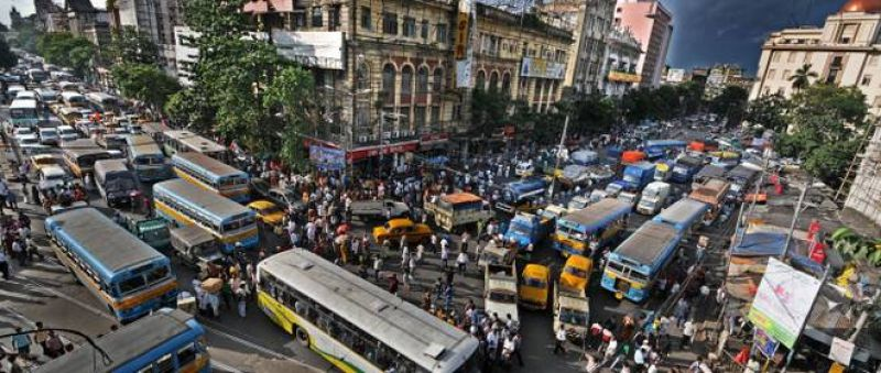 Traffic snarls continue in city