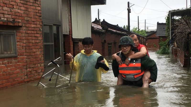 More than 6,000 people were evacuated
