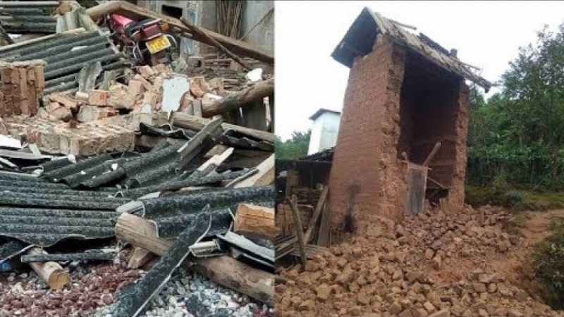 Quake had damaged 21 homes