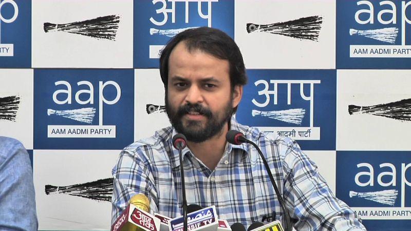 Khetan had sent his resignation to AAP chief Arvind Kejriwal