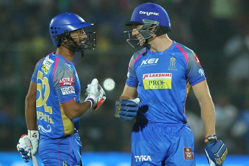 Rahul Tripathi and Jos Buttler