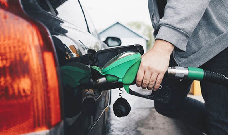 Petrol price was Sunday raised by 12 paise a litre