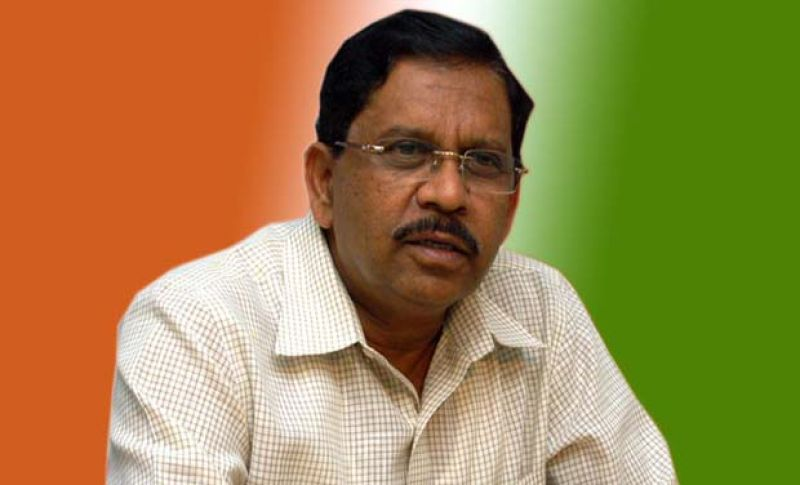 Deputy Chief Minister and Pradesh Congress Chief G Parameshwara