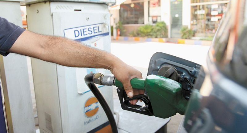 Diesel rate touched its highest level of Rs 72.61 a litre
