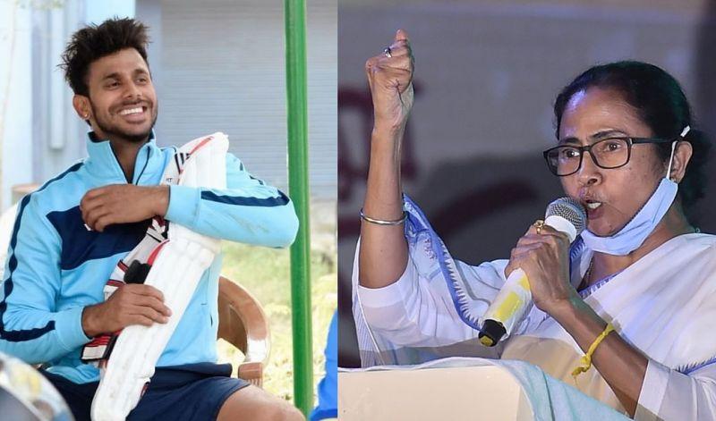 Manoj Tiwary and Mamata Banerjee
