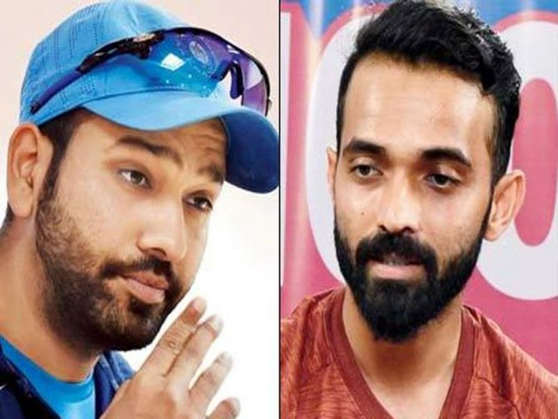 Rohit Sharma and Ajinkya Rahane